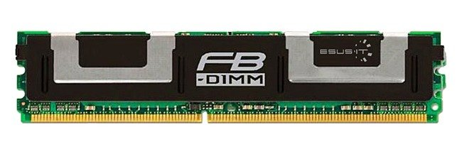 Arbeitspeicher 1x 4GB Kingston ECC FULLY BUFFERED DDR2 667MHz PC2-5300 FBDIMM | KVR667D2D4F5/4G